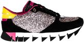Dolce & Gabbana Sneakers In Suede Con Glitter