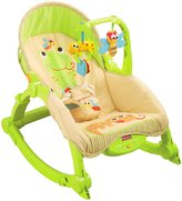 Fisher-Price Infant and Toddler Rocker - Lizzards