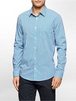 Calvin Klein Classic Fit Multi Check Twill Shirt