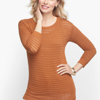 Talbots Mixed Yarn Sweater - Solid