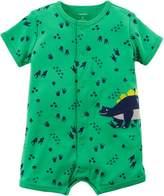 Carter's Baby Boys Dinosaur Romper