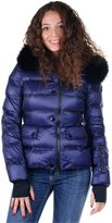 Moncler Woman Padded Jacket Armonique Blue