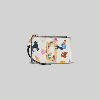 Marc Jacobs The Snapshot Sugar Top Zip Multi Wallet