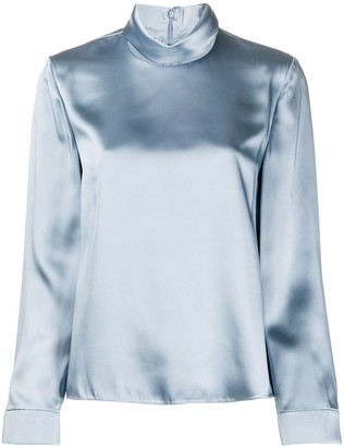 Emporio Armani Roll Neck Blouse
