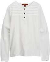 7 For All Mankind Long Sleeve Blouse (Little Girls)