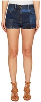McQ by Alexander McQueen Patched 70s Hotpants Women's Shorts