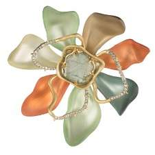 Alexis Bittar Block Flower Pin