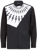 Neil Barrett Cotton Bolt Shirt