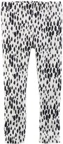 Carter's Print Leggings (Baby) - Black/White-12 Months
