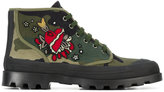 Valentino Garavani embroidered boots