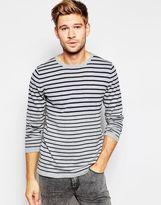 Esprit Stripe Knitted Jumper - Grey