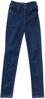 Y/Project Blue Cotton Jeans