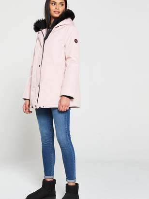 UGG Bernice Parka Coat - Pink