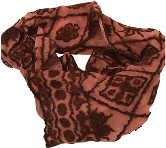 Maliparmi Pink Wool Scarves