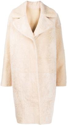 Drome Oversized Faux-Fur Coat