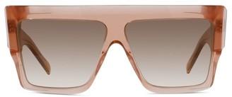 Celine 60MM Flat-Top Square Sunglasses