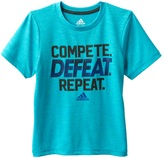 "adidas Toddler Boy Compete. Defeat. Repeat."" Graphic Tee"