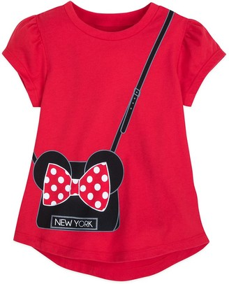 Disney Minnie Mouse Fashion T-Shirt for Girls New York City