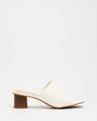 Walnut Melbourne Indie Leather Heels