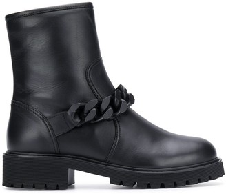 Giuseppe Zanotti chunky chain detail boots