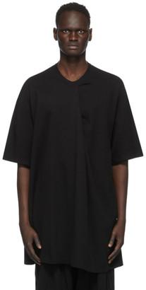 Julius Black Pleat T-Shirt
