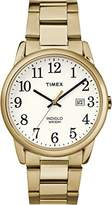 Timex Men's Easy Reader White Dial with a Stainless Steel Bracelet Watch TW2R23600