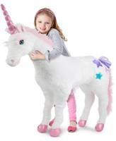 Melissa & Doug Kids' Plush Unicorn Stuffed Toy