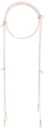 Lorena Antoniazzi Stars And Pearl Chain Wrap Necklace