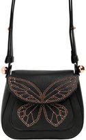 Sophia Webster Evie Stud Butterfly Leather Shoulder Bag
