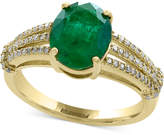 Effy Final Call Emerald (2-1/8 ct. t.w.) and Diamond (1/5 ct. t.w.) Ring in 14k Gold