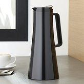 Crate & Barrel Bodum ® Bistro Black Thermal Coffee Carafe