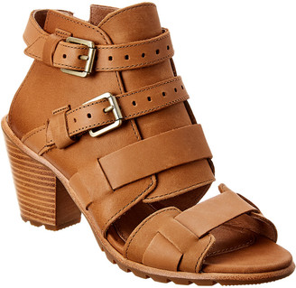 Sorel Nadia Buckle Ii Leather Sandal