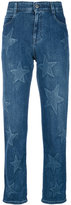 Stella McCartney star boyfriend jeans - women - Cotton/Spandex/Elastane - 24