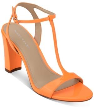 Marc Fisher Toria T-Strap Sandals Women's Shoes