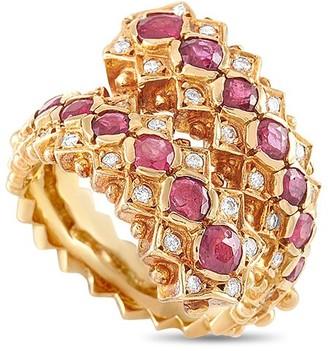 Heritage Ilias Lalaounis Ilias Lalaounis 18K 1.85 Ct. Tw. Diamond & Ruby Ring