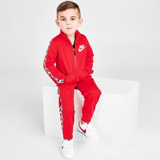 Nike Boys' Toddler Taping Tricot Track Jacket and Pants Set