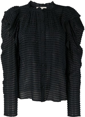 Ulla Johnson Textured Long-Sleeved Blouse