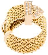 Aurelie Bidermann 'Polonaise' couture diamond ring