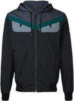 Fendi Monster hooded lightweight jacket - men - Polyamide/Spandex/Elastane - 46