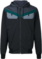 Fendi Monster hooded lightweight jacket - men - Polyamide/Spandex/Elastane - 50