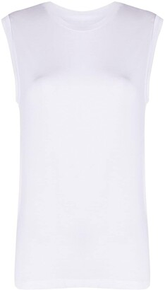 Majestic Filatures Fitted Tank Top