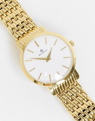 Accurist Gold Bracelet Watch