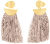 Lizzie Fortunato Crater tassel earrings