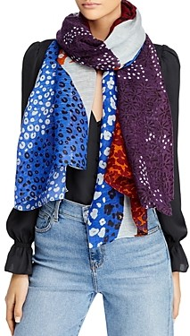 Fraas Abstract Print Mix Scarf - 100% Exclusive