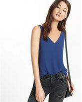 Express strappy back v-neck tank