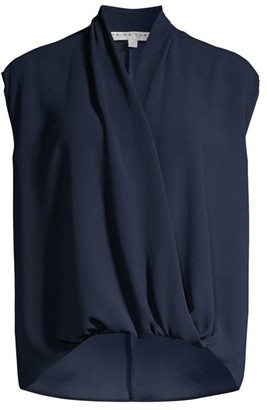 Trina Turk Concourse 2 Draped Blouse