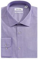 Calvin Klein Regular-Fit Layered Stripe Dress Shirt