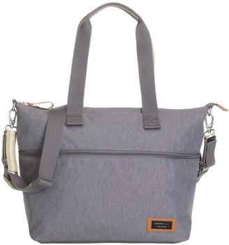 Storksak Travel Expandable Diaper Bag Tote - Grey