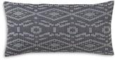"DwellStudio Tangier Geo Charcoal Decorative Pillow, 12"" x 24"""