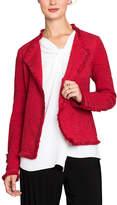 Nic+Zoe Fringe Mix Jacket